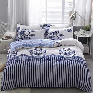 Modern High Quality Bedding Sets 6Pcs Bed Sheet Duvet Cover Set Pillowcase Without Comforter