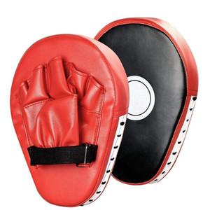 1 шт Боксерский мешок бокса Pad Sand Bag Фитнес тхэквондо Ручной Kicking Pad Кожа PU Обучение Снасти Муай Тай Foot Target S