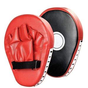 PU Boxing Target Taekwondo PCS Pad Sand Sand Cuero Fitness Bag Sicking Hand Pad 1 Bolsa de entrenamiento Gear Muay Thai Punching Foot S Bxkhd