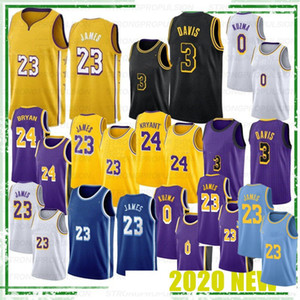 NCAA Crenshaw LeBron 23 James Anthony 3 Davis Kyle 0 Kuzma College Basketball Jerseys 32 Men Hot sales top quality new style