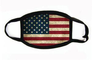 Baskı Maske Evrensel İçin Erkekler Kadınlar Amerikan Bayrağı toz geçirmez eksikliği Maskeler Amerikan Seçim Malzemeleri Parti Maskeler Maske 2020 # 824