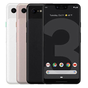 Original Google Pixel 3 XL Octa Núcleo Ram 4GB Rom 64GB / 128GB 12.2MP 6.3 polegadas 4G LTE Desbloqueado Refurbished telefone