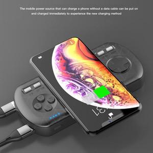 3 дюйма HD Colorfull экрана 8000 мАч Быстрый беспроводной зарядки Портативный Power Bank с игровой консоли Функция