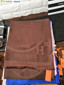 Uzun Cashmere eşarp Wrap Shawl 180 * 70cm baskı libobo2 Fiyat Fabrikası marka tasarımı Kadın Harf Baskı Pamuk Eşarp Letter