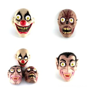 k1WG6 Masks Hallowmas Party grimace Masks Adults For Mask Scary Alloween funny Cosplay YSY Terrorist Mask Jason Voorees Mask Orror Festival
