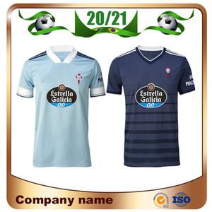 20/21 Celta Vigo Jerseys Fussball 2020 Celta de Vigo Home Iago Aspas M.Gomez Okay Brais Mendez Football Shirt
