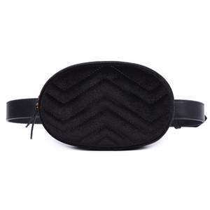 Waist Fanny Pack Women Leather Velvet Belt Zipper Waist Bag Travel Wallet Beach wallet