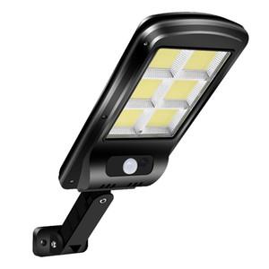 Solarbewegungs-Sensor Straßenlaterne im Freien wasserdichten Yard Sicherheits-Lampe LED-Solarlicht für Outdoor Garden Street Patio