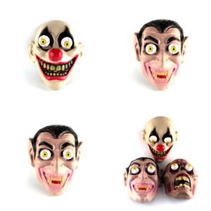 oxa1t Terrorist Rotten Corpse lustige Grimasse Latex Geistermaske Spielzeug-Spiel Trick Maske Karnevalsparty Hallowmas für Maske anzeigen Halloween Prop