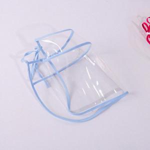 Boca transparente unisex respirable cara Maks reutilizables de tela Dustpoor Seethrough Boca Maskking cara Mascarillas Bandana gThY #