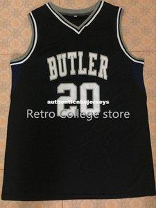 20 Gordon Hayward Butler Bulldogs Basketball Maglia universitario Top cucito pullover camicia su misura qualsiasi numero, nome e la dimensione XX XS-6XL gilet Jerse