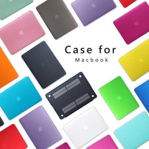 Матовые поверхности матовой Жесткой обложка чехол для Macbook Air 12 11 0,6 13 0,3 15 0,4 Pro A1706 A1708 Laptop Case