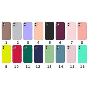 Slim Matte Soft TPU Case для iPhone 11 Pro Max XS XR S Ультра Тонкая простой Роскошный Телефон Чехол Мобильный телефон Защита Casee