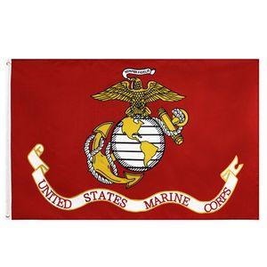 50 pcs fábrica direta 3x5fts 90x150cm Estados Unidos da América EUA EUA Exército USMC Marine Corps Flag