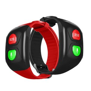 Smart Bracelet Gps Watch Screen NO display Old Men Wristband big Button Elderly care SOS dialer parent