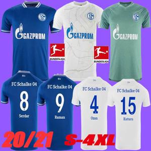 Size S-4XL 20 21 Schalke 04 Soccer Jerseys 2021 2020 الصفحة الرئيسية Third Uth Ozan McKennie Caligiuri Raman Bentaleb Burgstaller Compotts