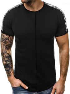 Sleeve Males Tops Leisure Sports Slim Tees Mens T-Shirts 2020 Summer Casual Designer T-Shirt Fashion Short