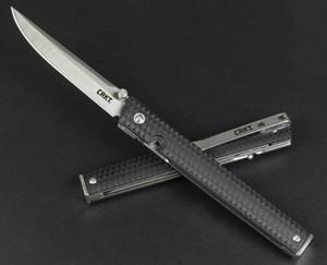 CR KT 7096 Складной нож Кемпинг Карманный нож выживания Портативный Охотничий Тактический нескольких EDC Открытый инструмент Рождество подарок нож 05487