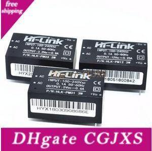 Новые HLK -Pm01 HLK -Pm03 HLK -Pm12 Ac -dc 220v Для 5v / 3 .3v / 12v Mini модуль питания, интеллектуальный бытовой выключатель питания Modul