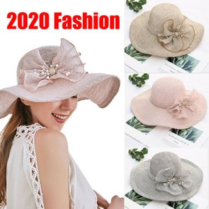 Proteção UV Big Brim Floppy Chapéu de Sol Praia Hat Mulheres Folding Verão Viagem Casual Feminino