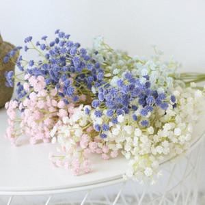 Gypsophila paniculata Artificial flor PU Início adereços decoração fotografia de estar quarto quarto Gypsophila falsificação flor Lm3c #