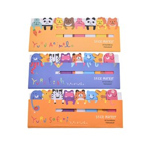 Cartoon Memo Pad Kawaii Stationery Sticky Notes Paper Planner Stickers Scrapbooking Cute Notebook Diy Stationary Stickers