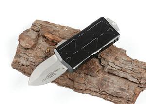cuchillos de Microtech Exocet Flying Fish doble acción cuchillo automático de auto defensa táctica bolsillo cuchillo de caza de los cuchillos que acampan EDC