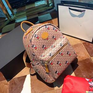 Gucci backpack Top FashionCasual PU-Leder-Rucksäcke für Teenager Rucksack Frauen Floral Retro Mochila Escolar Umhängetasche Designer Schulranzen