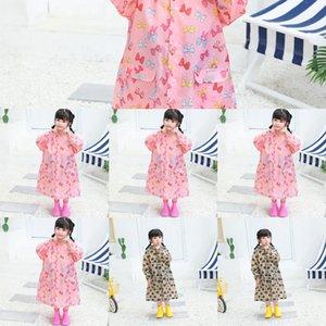 vhLjx Nouveaux garçons de raincoat pour enfants élèves de la maternelle et des bébés salopette imperméable poncho clothes Body Bag vêtements de corps Cape avec sch
