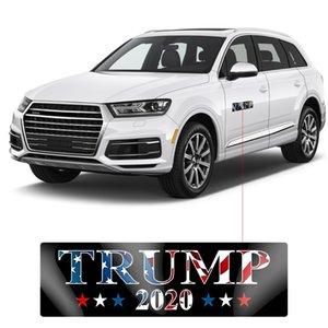 Preto Donald Trump Eleição adesivo Mantenha América grande presidente removível PVC carro reflexiva adesivos OWC1219