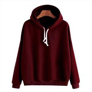 2020 Fashion Harajuku Winter Hoodie Women Loose Korean Style Sweatshirt Autumn Spring Streetwear Solid Hoodies Pullovers