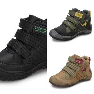 UOVO İlkbahar ve sonbahar yeni çocuk erkek spor ayakkabı moda çocuk ayakkabıları