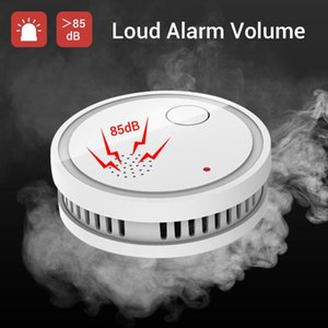 Independent Smoke Detector Fire Alarm Smart Smoke Fire Detector Low Battery Reminder Protect Alarm Sensor Include Battery