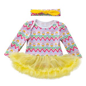 Excelent Clearance New summer babys Dress Toddler Newborn Baby Girls Princess Easter Eggs Tutu Dress Outfits Set Z0207
