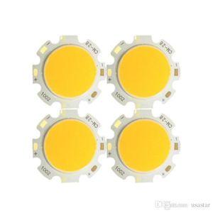 300mA LED COB quadrado chip de luz de alta potência talão 11 milímetros aquecer branco / diâmetro superfície luminosa 20mm, diâmetro exterior 13 milímetros * 13 milímetros 28 * 28 milímetros CRESTECH