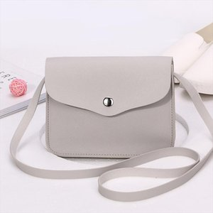 Fashion Women Candy Color Shoulder Bag Leather Purse Adjustable Strap Summer Ladies Girl Causal Messenger Crossbody Bags FA$3
