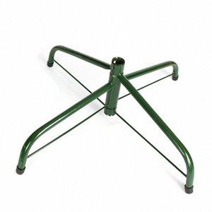 Árbol de Navidad caliente del hierro del sostenedor del soporte Base de soporte del pie almohadilla de goma Decoración para el hogar MDD88 EbQT #