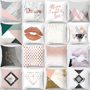 18 Styles Modern style Pillow Covers Winter Decor Micro-fibe Cushion Covers Sofa Throw Pillow Case Cushion Covers 45*45cm L-0015