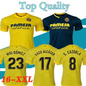 Thailandia Nuovo 20 21 Villarreal CF la casa maglie di calcio 2021 Villarreal camice assenti di calcio verde 2020 Uniforme Villarreal calcio blu