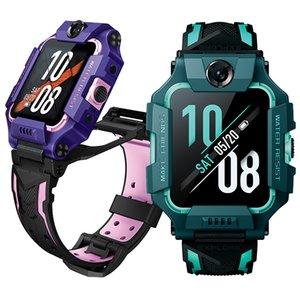 Torntisc 2020 En Yeni Çocuk Akıllı İzle 4G GPS WIFI LBS Yer Çift Kamera Görüntülü Arama Su geçirmez IP67 Smartwatch Boy Kız