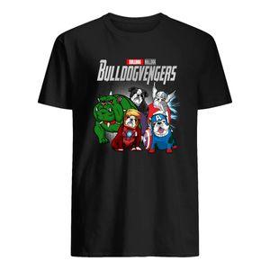 Amante realidade Pedra engraçado Bulldog presente Bulldogvengers T-shirt para as Mulheres menino dos homens das meninas Fans