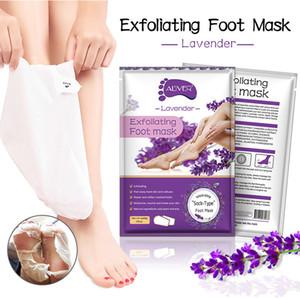 Aliver Aloe Peeling Füße Maske Feuchtigkeitsspendende Socken Baby-weiche Fuß entfernen Peel Off Dead Skin Feet Skin Care