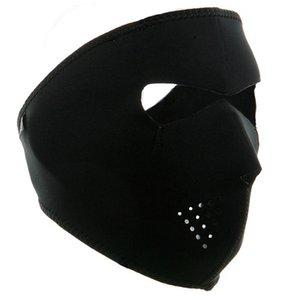 Велоспорт Катание на лыжах Пешие прогулки Охота 2 в 1 Реверсивный неопрена Full Face Mask Оптовая новый горячий Sells