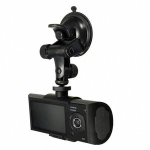 """2.7 """"في تاكسي سيارة CCTV الجبهة الخلفية كاميرا مزدوجة HD فيديو مسجل رحلة كاميرا GPS سيارة دفر aybT #"""
