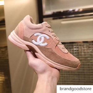 35 45 Trainer-Leder Designer Männer Frauen s-beiläufige Schuh-Größe