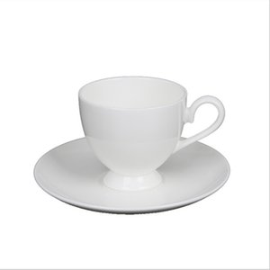more than 45% Bone china white color coffee cups coffee mugs 100-200ml volume with logo customize
