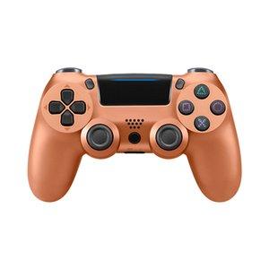 CHOQUE 4 Wireless Controller TOP qualidade Gamepad para Joystick PS4 com Retail pacote LOGO Game Controller Atacado grátis DHL transporte rápido
