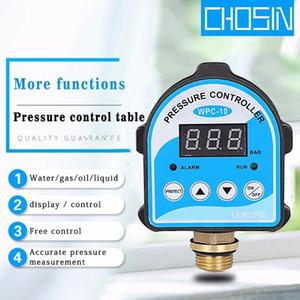 Автоматический воздушный насос воды масло компрессора реле давления Цифровой дисплей Eletronic Регулятор давления для водяного насоса