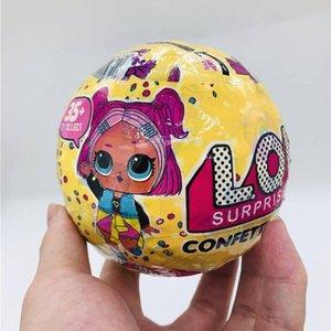 Рождественский подарок конфетти Pop -Series3 Случайные куклы 10см Игрушки для малышей игрушечную фигурку игрушки Подарочные Для мальчиков Девочки Оптовая Дешевые
