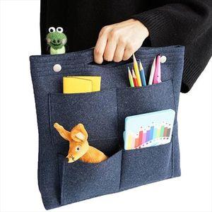 Multi function make up bag,Felt Insert Purse Organizer,Multi Pocket Cosmetic Bags in Bag Organizer For Tote amp; Handbag Shaper